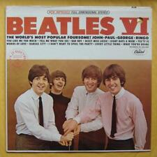 Beatles LP US Capitol ST-2358 Beatles VI Factory Sealed with Promo Hole!