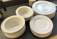 Alessi  Dinner Set 8 Plates, 8 Side Plates 7 Bowls