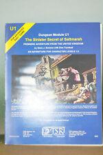 Dungeons and Dragons; Module U1 - The Sinister Secret of Saltmarsh - 1981