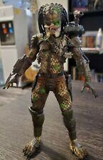 Neca Custom Battle Damaged Bloody Jungle Hunter Predator 7 Inch Scale Figure