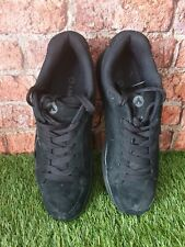 Men's Black Airwalk Suede Skateboarding Shoes Size 9.5 Uk retro
