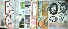 10 x A4 Sheets KANBAN Foiled & Embossed Assorted Toppers NEW