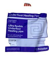 New Polypipe Underfloor Heating Pipe 15mm / 50 M