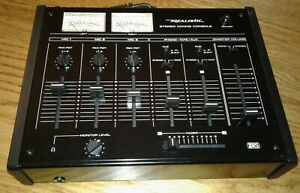 Realistic Stereo Mixing Console Model 32-1200B, Unused w/ Owner's Manual