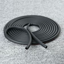 8M Small D Shape Rubber Seal Strip Decorate Weather strip Hollow For Auto Car