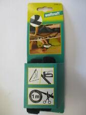 Wolfcraft  Klettband zum Nähen und Tackern 1 m Art. 3288000