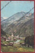 SONDRIO SANTA CATERINA VALFURVA 31 ORTLER Cartolina viaggiata 1923
