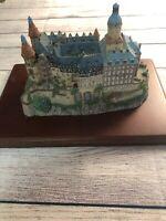 Ksiaz Enchanted Castle of Europe-Silesia, Poland, The Danbury Mint-1994