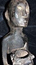 "IFUGAO RITUAL SHAMAN BULUL BOWL, bone eyes 18"" EARLY 1900S provenance"