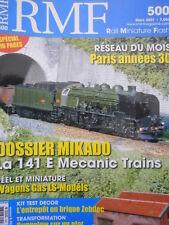 RMF Rail Miniature Flash n°500 2007 Reseau Paris Annees 30  [TR.33]