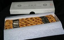 Vintage DMC 5 Cotton Perle 782 Wicker Brown XStitch Floss 48 skeins 4 Box Worth