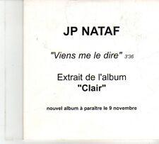 (DP231) JP Nataf, Viens Me le Dire - DJ CD