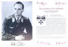 SPGL25 WWII Luftwaffe WW2 STUKA photo hand signed NOLLER KC