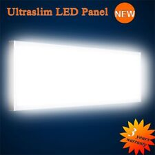 ultrafin Panneau LED BLANC CHAUD 6000LM 75W 120x30cm intensité variable