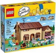 LEGO The Simpsons House 71006 Set w Homer Simpson, Lisa, Ned Flanders, Bart NEW