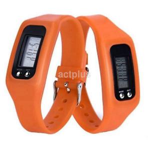 New Run Step Pedometer Calorie Counter Digital LCD Bracelet Watch US