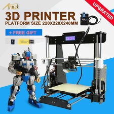 Acrylic Anet A8 3D Printer Auto Leveling Prusa I3 DIY-assembled Large Print Size