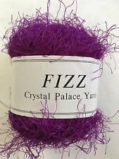 Crystal Palace Fizz Eyelash Yarn #7303 Purple 50g 120yd