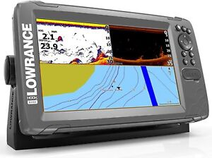 Lowrance HOOK2-9 GPS with SplitShot Transducer and US Inland Map 000-14297-001