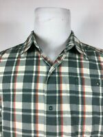 TNF THE NORTH FACE - Plaid snap buttons Short Sleeve shirt L