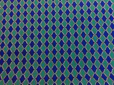 Benatex - Origins von Jennifer Jung P794 königsblau + grün - 100% Baumwolle