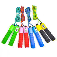 DI-  Number Counter Skipping Jump Rope Adult Children Fitness Lose Weight Adjust