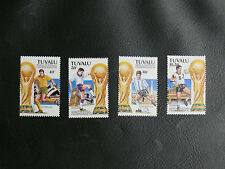 TIMBRES FOOTBALL : TUVALU SERIE COMPLETE WORLD CUP 1994 NEUVE
