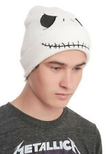 Disney The Nightmare Before Christmas Hat Jack Smile Face Knit Beanie