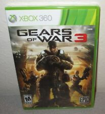 GEARS OF WAR 3 SEALED NEW Microsoft XBOX 360 People Can Fly Epic Games Shooter