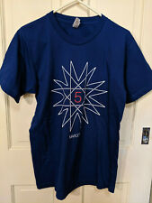 Maroon 5-T Shirt 2017 Tour-Size Medium-Blue