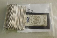 ~~LEATHER CRAFT~~VINTAGE~NEW OLD STOCK HARNESS NEEDLES #1 / 0 TOTAL  214  LOT 02