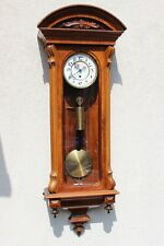 carl suchy & söhne wien One weight MONTH 30 DAY wall clock at 1875