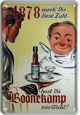 Lamiera SCUDO cartolina Boonekamp 10 x 14,5 retro scrivibili erbe liquori