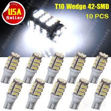 10PCS Super White T10 42-SMD Car Trailer 194/168 Backup Reverse LED Light