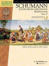 Schumann Schumann Scenes from Childhood Kinderscenen Opus 15 Schirmer 000296641