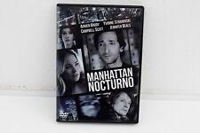 MANHATTAN NOCTURNO - DVD - ADRIEN BRODY - YVONNE STRAHOVSKI - CAMPBELL SCOTT