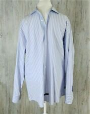 English Laundry Mens Shirt Size 17 1/2 Sleeve 34/ 35 Flip Cuff Button Down