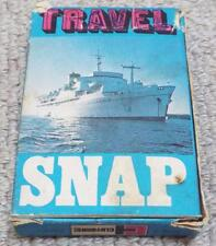 TRAVEL SNAP - VINTAGE 1960's PLAYING CARD GAME - CLIFFORD SERIES