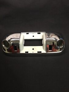 NOS 1972-79 Ford Lincoln Mercury Chrome Dome Lamp Housing D4LY-13786-A