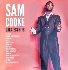 "SAM COOKE - GREATEST HITS - 180 GRAM ELECTRIC BLUE VINYL LP "" NEW, SEALED """