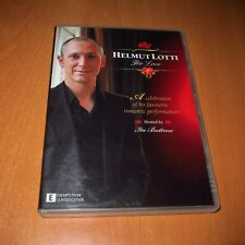 HELMUT LOTTI - FOR LOVE ( DVD , ALL REGIONS ) ~ VERY GOOD !