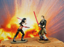 Hasbro Star Wars 1:32 Soldier Figure Vader's Apprentice Unleashed vs Maris Brood