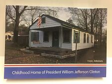 CHILDHOOD OF PRESIDENT BILL CLINTON PRESIDENT POST CARD LOT OF 50 BC-109