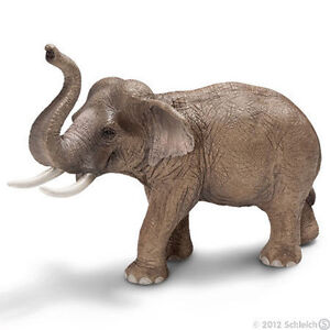 NEW SCHLEICH 14653 Asian Elephant Male Adult - RETIRED