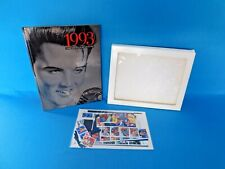 1993 USPS Commemorative Stamp Collection Book, MINT, Featuring Elvis ~ COMPLETE