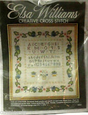 ELSA WILLIAMS Alphabet Sampler Creative Cross Stitch Embroidery kit 2001