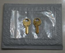A601 - A850 2-Replacement Keys Master Padlock Lock Cut To Key Code A601-A850