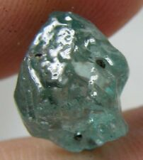 #2 8.75ct Cambodia Natural Rough Uncut Blue Zircon Crystal Specimen 1.75g 12mm