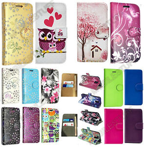 Luxury Premium Leather Flip Book Case Wallet Stand Cover For Sony Xperia Experia