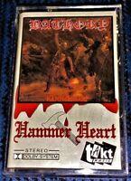 BATHORY Hammerheart VG Cassette Tape Hard to Find TAKT Black Metal